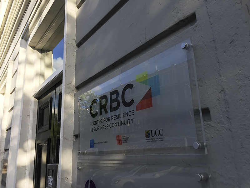UCC CRBC Plaque