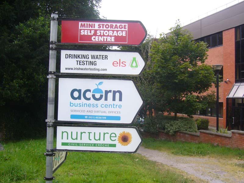 Acorn Centre Directional Signage