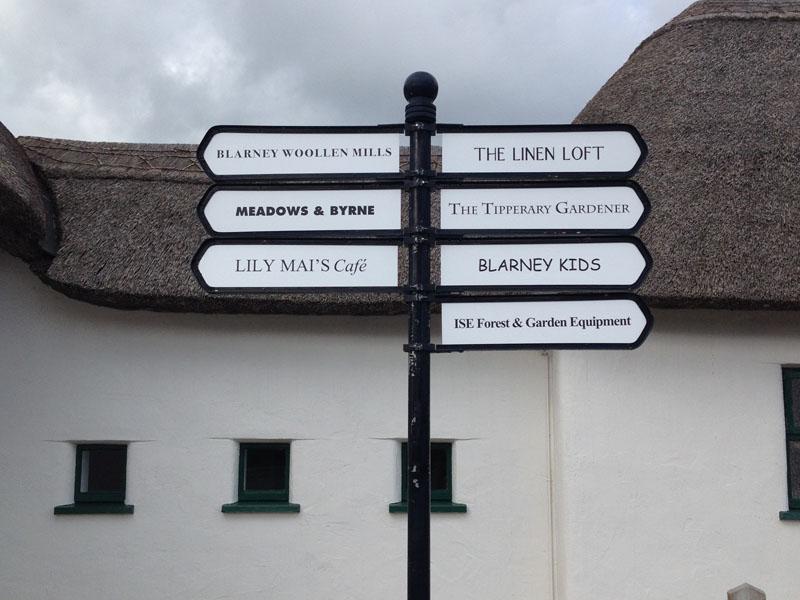 Blarney Directional Signage