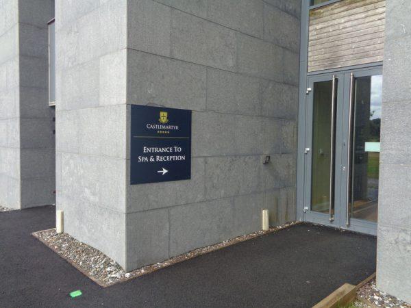 Castlemartyr Resort Directional Signage