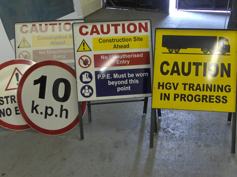 Construction Safety Sign Collection