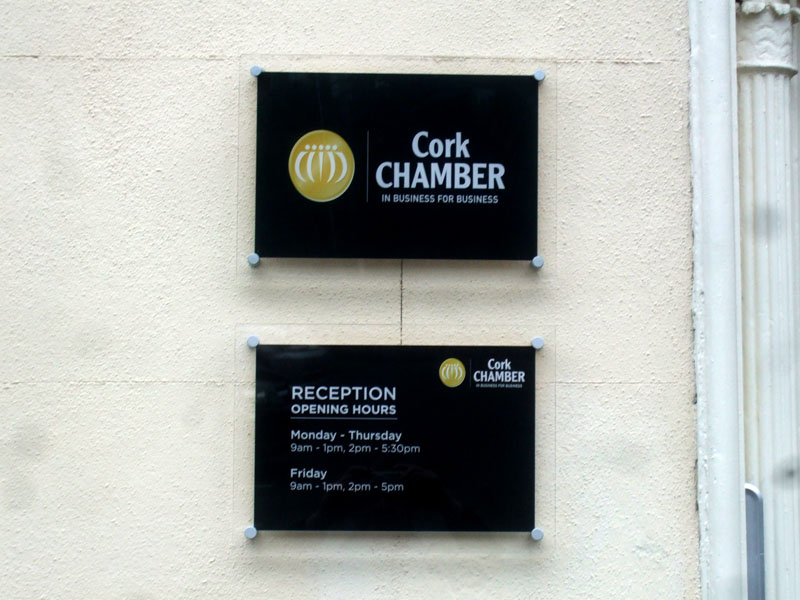 Cork Chamber Exterior Plaques