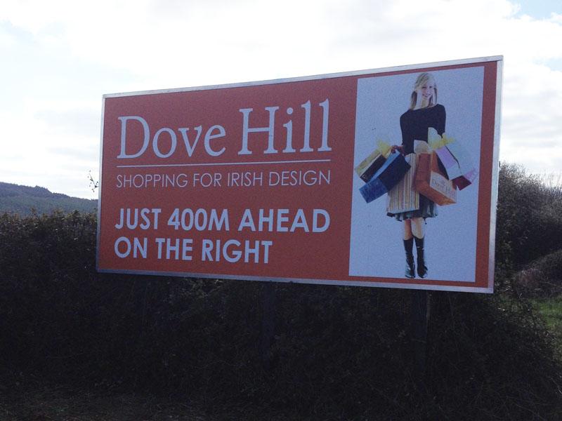 Dove Hill Roadside Directional Signage