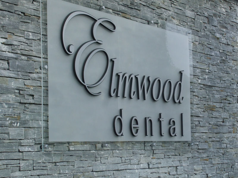 Elmwood Dental Exterior Plaque