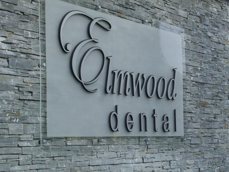 Elmwood Dental Exterior Plaque