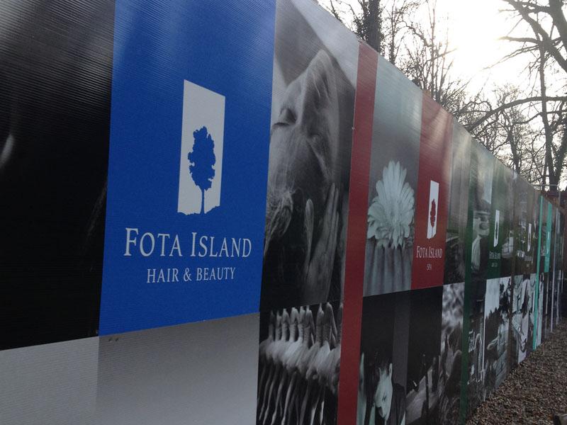 Fota Island Resort Construction Safety Sign 2