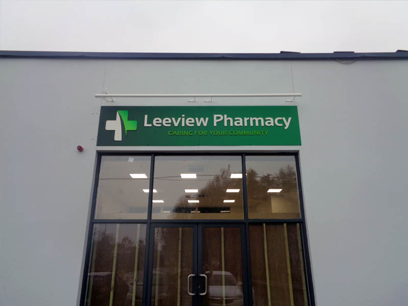 Leeview Pharmacy Trough Light