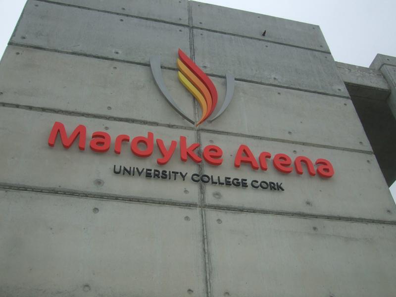 Mardyke Arena Exterior Raised Lettering Signage