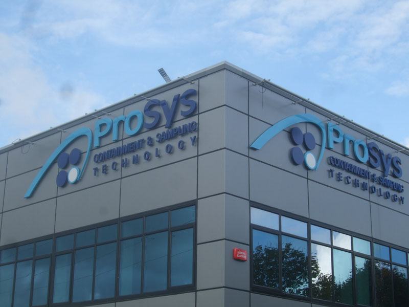 ProSys Exterior Raised Lettering Signage