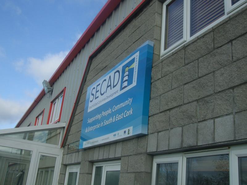 SECAD Exterior Dibond Box Signage