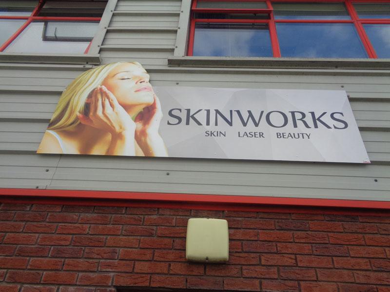 Skinworks Exterior Sign