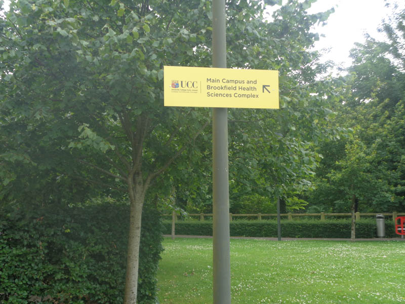 UCC Directional Signage 2