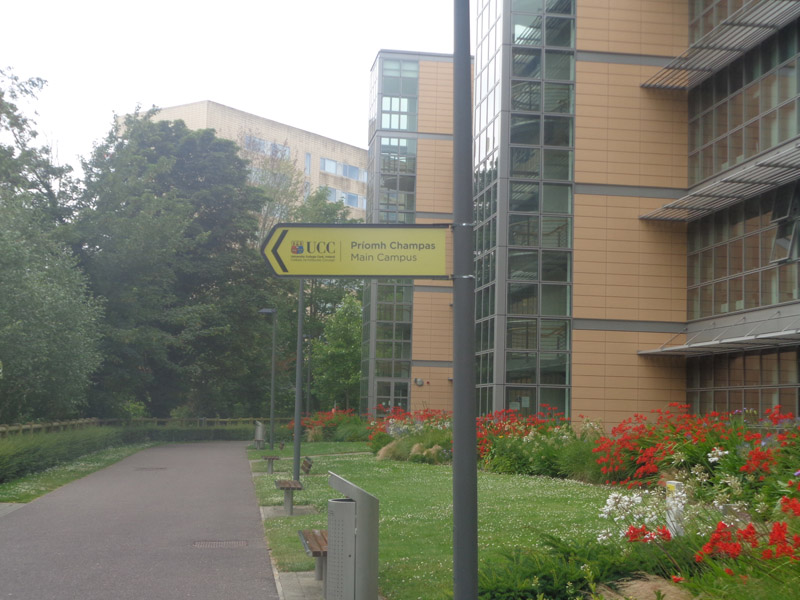 UCC Directional Signage
