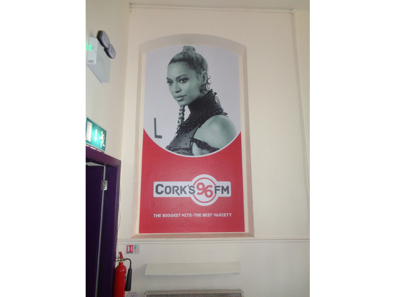 96fm Wall Graphics