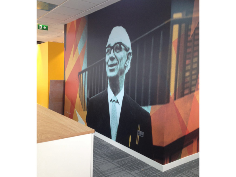 Arup Wall Graphics