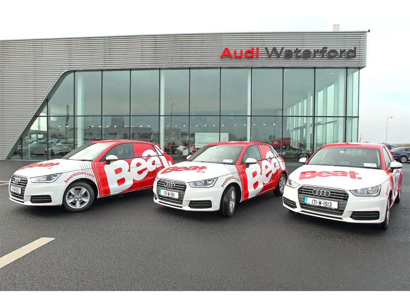 Audi Beat FM Full wrap