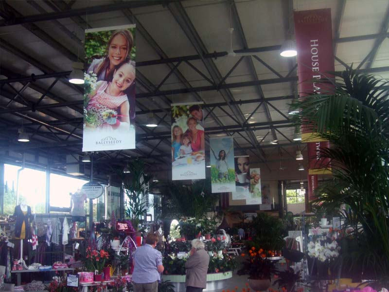 Ballyseedy hanging banners