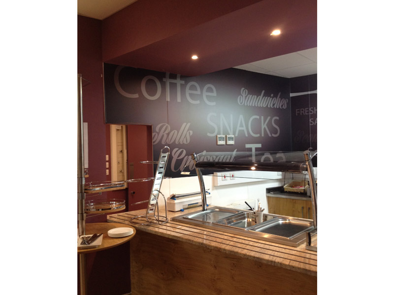 Cafe Wall Graphics