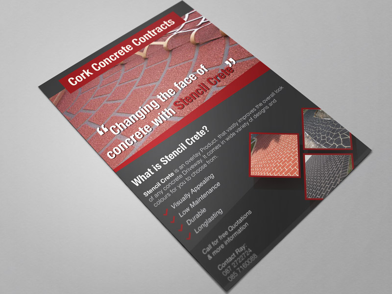 Cork-Concrete flyer