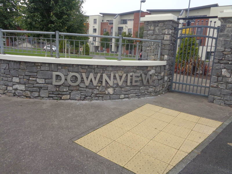 Downview Stainless Steel Signage