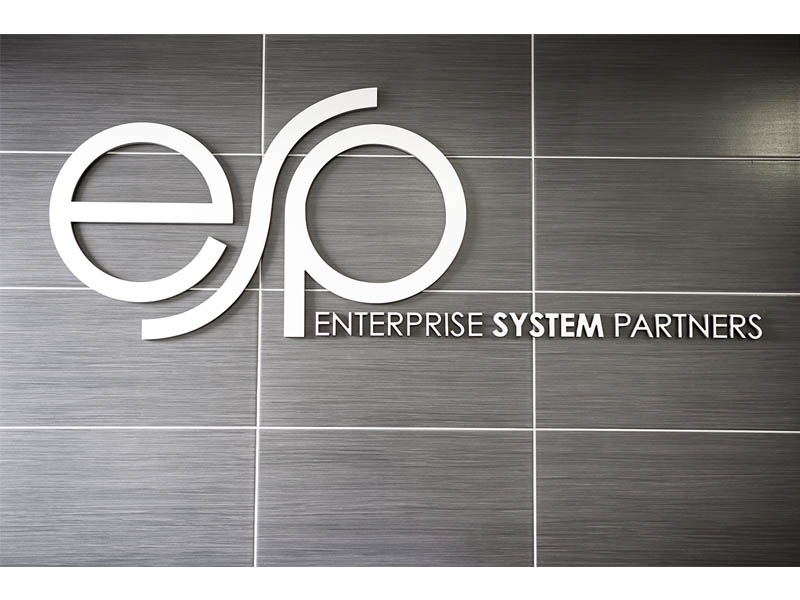 ESP butler dibond raised lettering 2