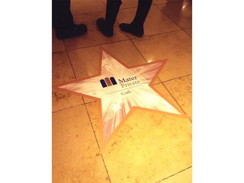 Event floor graphics