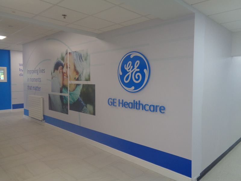 GE Healthcare Wall Graphics 2