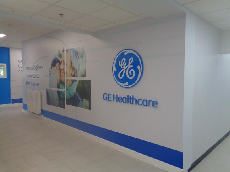 GE Healthcare Wall Graphics 2