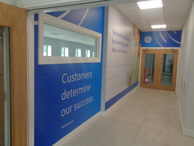 GE Healthcare Wall Graphics