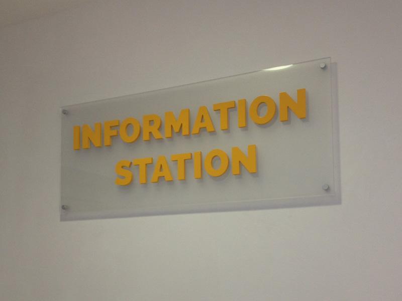 Information Centre Interior Plaque