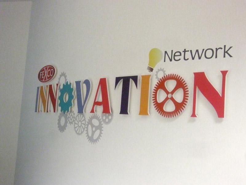 Innovation Raised Lettering