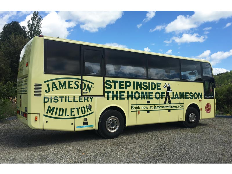 Jameson Distillery Midleton_ Bus Full Wrap