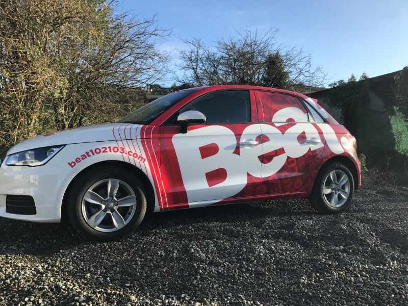 This is a Full Wrap we installed for Beat FM