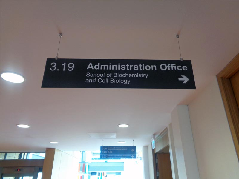 UCC Dibond Hanging sign