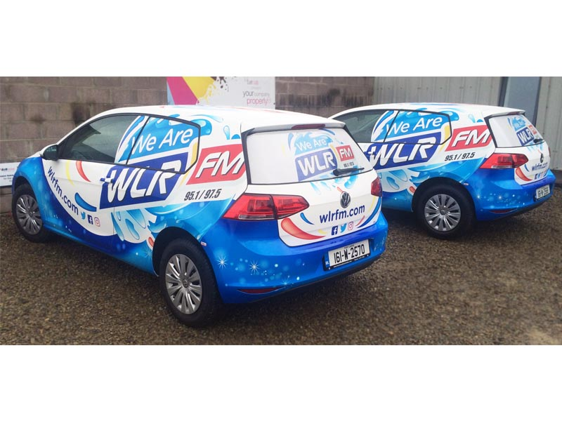 WLR FM full wrap vw golf