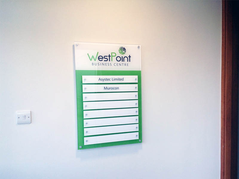 West Point acrylic directories 2