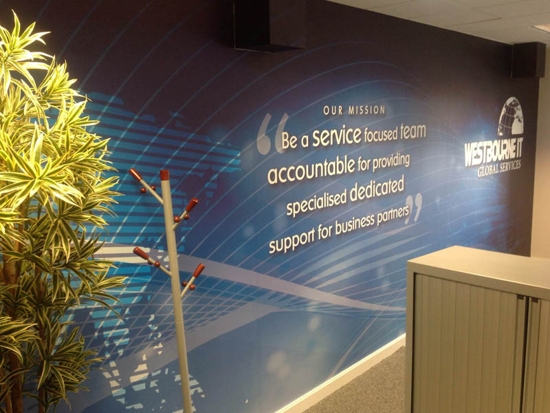 Westbourne IT Wall Graphics
