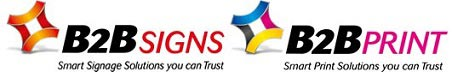 B2B Signs & Print Logo