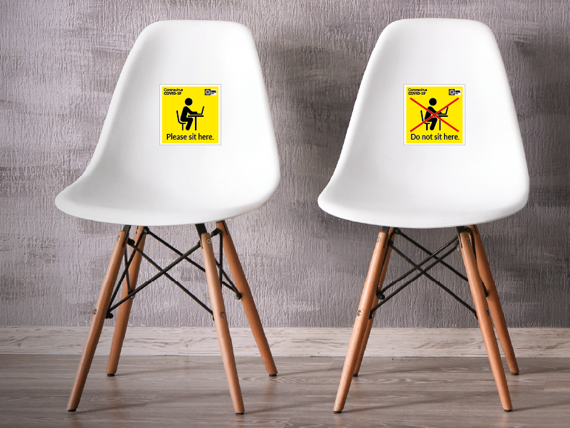 COVID19 CHAIR LABELS 29/05/2020 29/05/2020