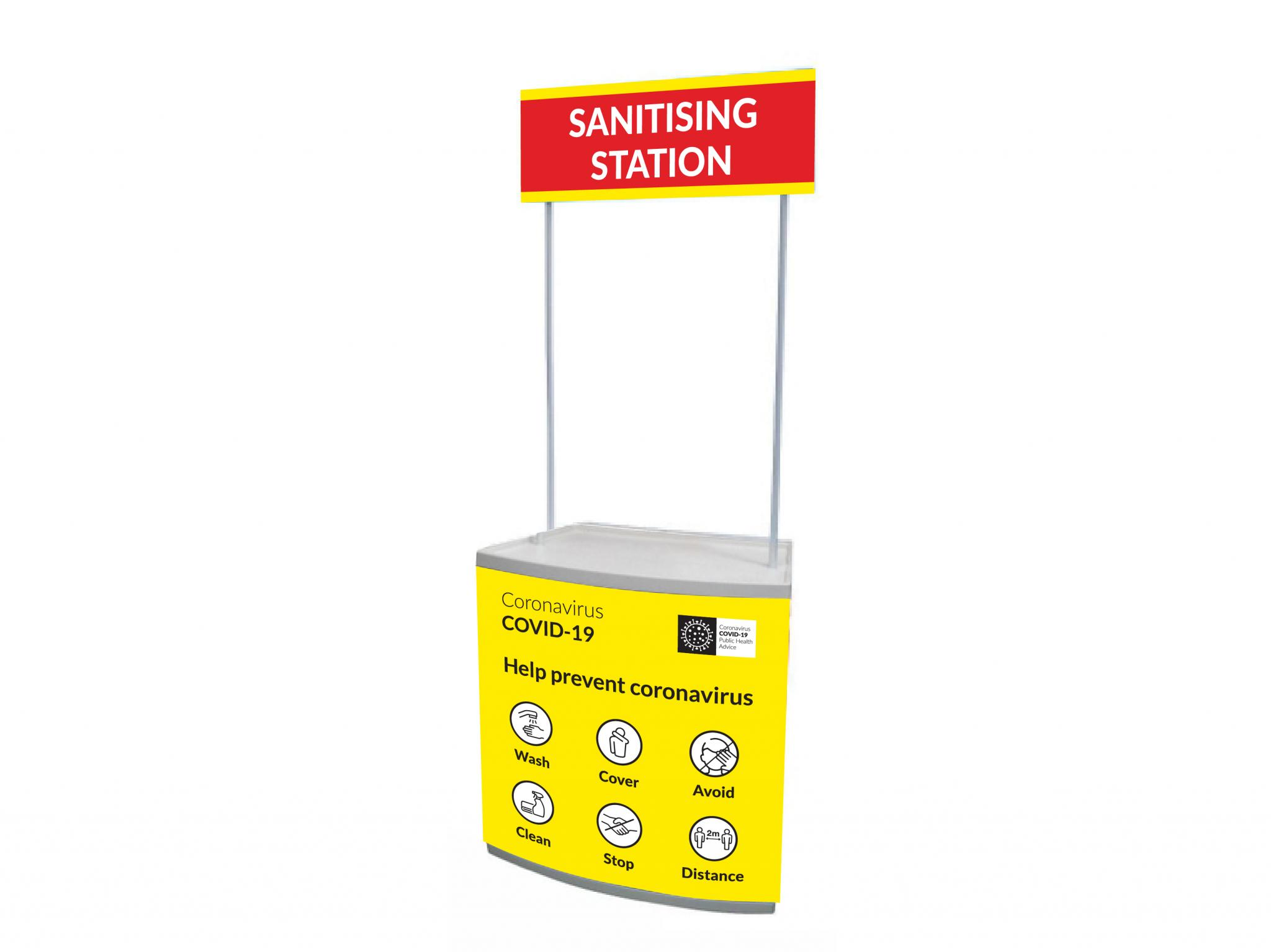 COVID Sanitiser Station
